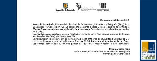 Invitacion Congreso UdeC